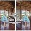 ( พร้อมส่ง) เดรสแบรนด์ Three Floor ที่กำลังฮอตฮิตกันในหมู่ celebrity ใช้เนื้อผ้าทอ poly blend ดีเทลช่วงอกกับส่วนข้างลำตัวเป็นแบบ cut-out ช่วงกระโปรงอัดพลีท สีสันโทนพาสเทลนีออน thumbnail 8