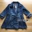 เสื้อผ้าเกาหลีพร้อมส่ง เบลเซอร์ยาวผ้าเดนิมสไตล์สปอร์ตเฟมินีน thumbnail 10