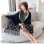 เสื้อคลุมสไตล์เกาหลี ผ้าwool 100% มี 3 สี thumbnail 8