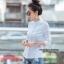 เสื้อผ้าเกาหลีพร้อมส่งเสื้อเชิ้ตลายตาราง thumbnail 4