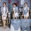 เสื้อผ้าแฟชั่นเกาหลีพร้อมส่ง เสื้อแจคเก็ตยีนส์แขนกุด ดีเทลรีดเพชรโลโก้แบรนด์ดิออร์ thumbnail 8