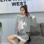 เสื้อผ้าเกาหลีพร้อมส่ง Sweater เสื้อคลุม สไตล์เกาหลีสุดฮิต thumbnail 3