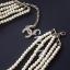 Chanel Pearl Necklace สร้อยมุกเกรดไฮเอนค่ะพร้อมส่ง thumbnail 4
