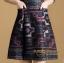 Dress คอกลม แขน 5 ส่วน เนื้อผ้าโพลีเอสเตอร์ thumbnail 7