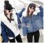 Diana Extra Fur-Collar Denim Jacket thumbnail 6