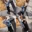 เสือผ้าเกาหลีพร้อมส่ง Setนี้คุ้มค่าสุดๆคร่าJacket ยีนส์แขนยาว ฟอกสียีนส์อ่อนพร้อมสายเดี่ยว thumbnail 3