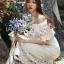 Molly Sweet Feminine Off-Shoulder White Lace Dress thumbnail 3