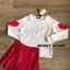 เสื้อผ้าเกาหลีพร้อมส่ง ขาวแดงงานดีก็มาคร้าาาาาา เหมือนเด็กญี่ปุ่นจริงงๆ thumbnail 14