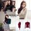 เสื้อผ้าเกาหลีพร้อมส่ง สำหรับงานไหมพรมเนื้อผ้าบางๆยืดหยุ่นได้สูงใส่กระชับ thumbnail 2
