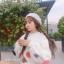 เสื้อผ้าเกาหลีพร้อมส่ง เสื้อผ้านุ่มติดดอกไม้ 3D thumbnail 2