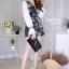 เสื้อผ้าเกาหลีพร้อมส่ง จัมพ์สูทขาสั้นมาใหม่สุดน่ารัก thumbnail 4