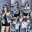 เสื้อผ้าเกาหลีพร้อมส่ง เสื้อคลุมแขนยาว งานพิมพ์ลายคมชัด มีทั้งลายแมว ลายเสือ thumbnail 12