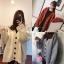 เสื้อผ้าเกาหลีพร้อมส่ง เสื้อคลุมไหมพรมนิ่มใส่สบาย thumbnail 1