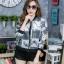 เสื้อผ้าเกาหลีพร้อมส่ง เสื้อคลุมแขนยาว งานพิมพ์ลายคมชัด มีทั้งลายแมว ลายเสือ thumbnail 7