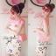 ( พร้อมส่ง) มินิเดรสเปิดไหล่ พิมพ์ลายหัวใจสีสดใส เก๋ๆด้วยดีเทลเปิดไหล่ทรงโบว์ ลุคคุณหนู หวานสดใสแบบสาวเกาหลี น่ารักมากค่ะ thumbnail 1