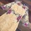 ชุดเดรสเกาหลี พร้อมส่งMini dress แขนยาวงานสวยงานปักและตัดเย็บเเน่นมากค่ะซับในเย็บติดผ้า thumbnail 13