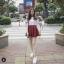 เสื้อผ้าเกาหลีพร้อมส่ง ขาวแดงงานดีก็มาคร้าาาาาา เหมือนเด็กญี่ปุ่นจริงงๆ thumbnail 4