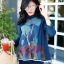 เสื้อผ้าเกาหลีพร้อมส่ง เสื้อญี่ปุ่นงานปักเนื้อดี งานดีงานสวย thumbnail 1