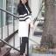 เสื้อผ้าเกาหลีพร้อมส่ง คาดิแกนคลุมกันหนาวแขนยาวสี่ส่วน thumbnail 5
