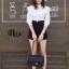 เสื้อผ้าเกาหลีพร้อมส่ง เสื้อคอปีนแขนยาวทรงสวย thumbnail 10