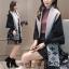 เสื้อผ้าเกาหลีพร้อมส่ง เสื้อคลุมไหมพรมทอลาย LV เนื้อดีมากเนื้อนุ่มใส่สบายผิว thumbnail 7
