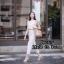 เสื้อผ้าแฟชั่นเกาหลีพร้อมส่ง เสื้อแขนกุดตัวสวยมาเข้าชุดกันกับกางเกงขายาวทรงเดฟ thumbnail 3