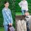 เสื้อผ้าเกาหลีพร้อมส่ง เสื้อทรงป้ายหน้า ผูกเอว thumbnail 11