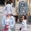 เสื้อผ้าเกาหลีพร้อมส่ง รุ่นนี้ทำมาเอาใจสาวๆที่ชื่นชอบเสื้อยีนส์แบบขาดเยอะๆ thumbnail 5