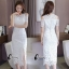 Sandra Snow Whitte Luxury Lace Dress thumbnail 8