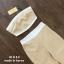 เสื้อผ้าแฟชั่นเกาหลีพร้อมส่ง เซ็ตเสื้อเกาะอกตัวสั้นสีน้ำตาล ใส่คู่กับกางเกงขายาวทรงบาน thumbnail 6