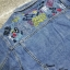 เสื้อผ้าเกาหลีพร้อมส่ง เสื้อแจ๊คเก็ตยีนส์ด้านหลังปักลวยลาย สีสัน สดใส thumbnail 5