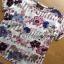 เสื้อผ้าเกาหลี พร้อมส่งเซ็ตเสื้อแขนสั้นพิมพ์ลายดอกไม้และกางเกงขายาว thumbnail 10
