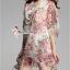 ( พร้อมส่งเสื้อผ้าเกาหลี) เดรสผ้าชีฟองพิมพ์ลายดอกไม้สีสันสดใส ตัวนี้ออกแนวเปรี้ยวอมหวาน พิมพ์ลายดอกไม้โทนสี colorful มีซับในเย็บติด ตรงแขนและชายกระโปรงเป็นผ้าโปร่ง ลุคนี้เหมาะสำหรับสาว 2 สไตล์ทั้งหวานและเปรี้ยว ได้หมดค่ะ thumbnail 6