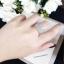 พร้อมส่ง Diamond Ring แหวนเพชรงานเพชร CZ แท้ thumbnail 4
