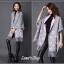 เสื้อคลุมสไตล์เกาหลี ผ้าwool 100% มี 3 สี thumbnail 13
