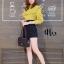 เสื้อผ้าเกาหลีพร้อมส่ง เสื้อคอปีนแขนยาวทรงสวย thumbnail 4