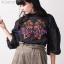 เสื้อผ้าเกาหลีพร้อมส่งเสื้อปักสวยๆ thumbnail 5