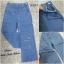เสื้อผ้าเกาหลีพร้อมส่ง กางเกงยีนส์ ขากระบอก เอวสูง thumbnail 5