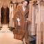 เสื้อผ้าเกาหลีพร้อมส่ง โอเวอร์โค๊ต ผ้าขนแกะเทียม อลังสุดๆ thumbnail 1