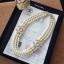 พร้อมส่ง Chanel Pearl Necklace สร้อยมุกเกรดพรีเมียม thumbnail 4