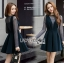 เสื้อผ้าเกาหลีพร้อมส่ง เซทชุดเดรสมี3ชิ้นในเซท thumbnail 7