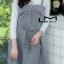 เสื้อผ้าเกาหลีพร้อมส่ง ชุดเซทเสื้อแขนยาว+เดรสลายตาราง thumbnail 4