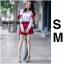 เสื้อผ้าเกาหลีพร้อมส่ง ขาวแดงงานดีก็มาคร้าาาาาา เหมือนเด็กญี่ปุ่นจริงงๆ thumbnail 3
