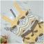 เสื้อผ้าเกาหลีพร้อมส่ง Set เสื้อ+กางเกง สีเหลือง thumbnail 3