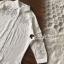 เสื้อผ้าเกาหลีพร้อมส่ง Korea Pleaty Shirt Denim Sleeve thumbnail 9
