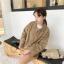 เสื้อผ้าเกาหลีพร้อมส่ง เสื้อคลุมผ้าวูล thumbnail 2