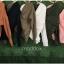 เสื้อผ้าเกาหลีพร้อมส่ง เสื้อไหมพรมคอวี thumbnail 8
