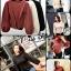 เสื้อผ้าเกาหลีพร้อมส่ง เสื้อไหมพรมแขนยาวดีไซน์แขนให้ดูพองๆน่ารักมากๆ thumbnail 20