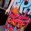 ชุดเดรสเกาหลี พร้อมส่งChic Graffiti monogram Dress thumbnail 7