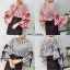 เสื้อผ้าเกาหลีพร้อมส่ง เสื้อลายกราฟฟิก Stlye Korea thumbnail 4